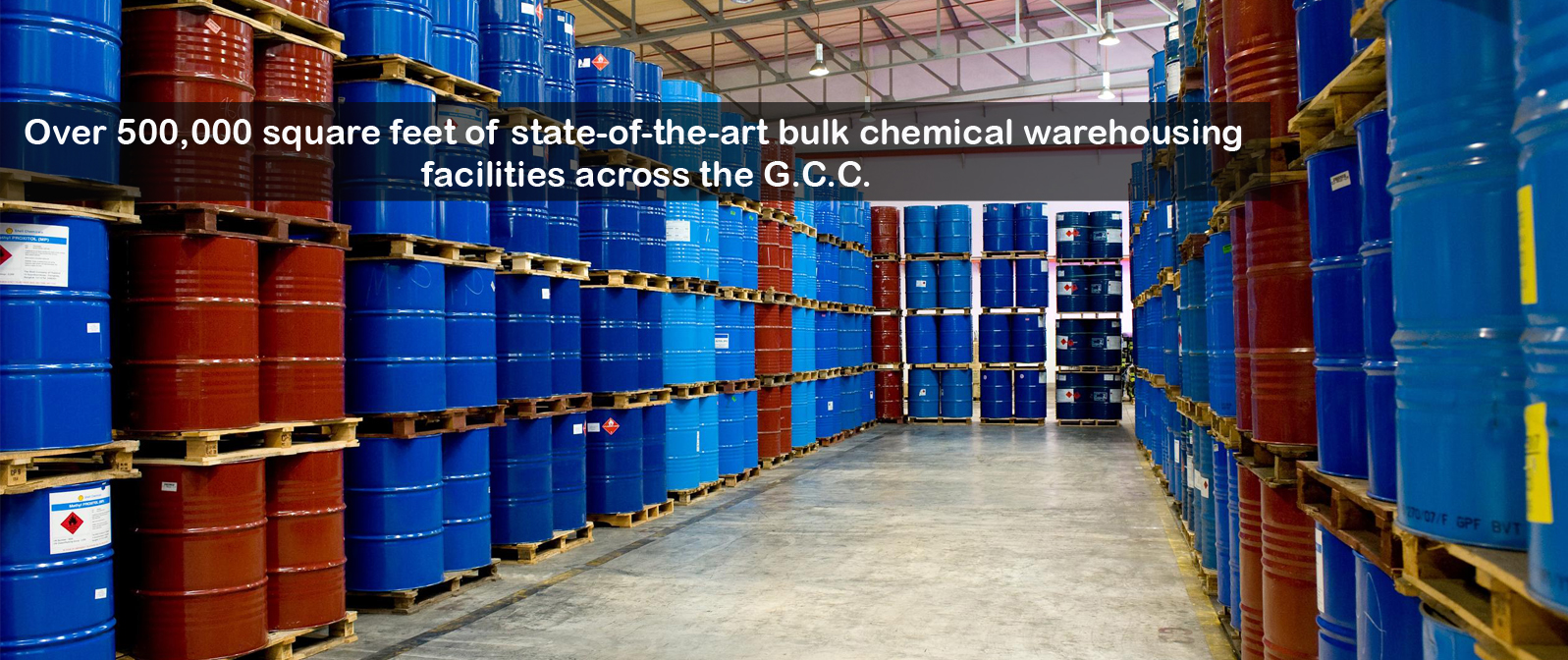 Wholesale warehouses for household chemicals 96